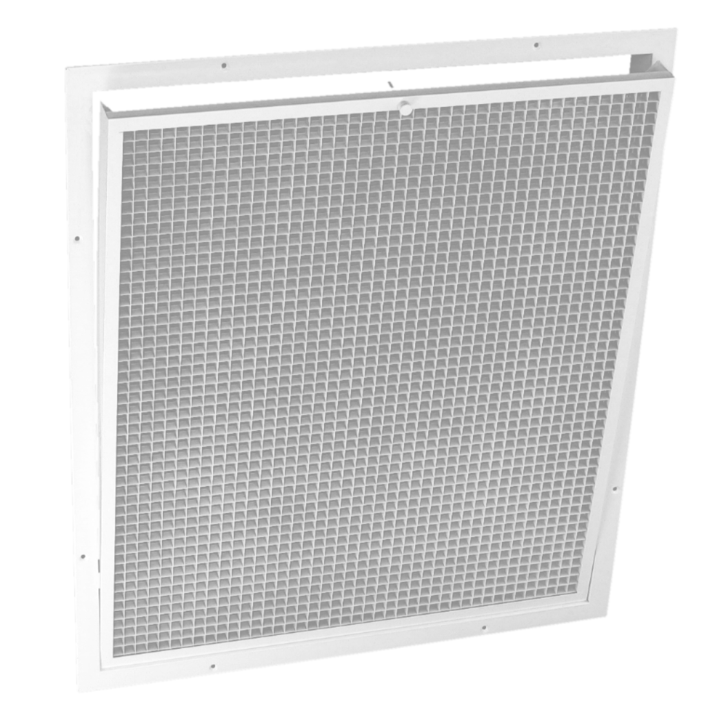 AirScape Openable & Washable Grille for 3400, 4300, 5300 Size Whole House Fans
