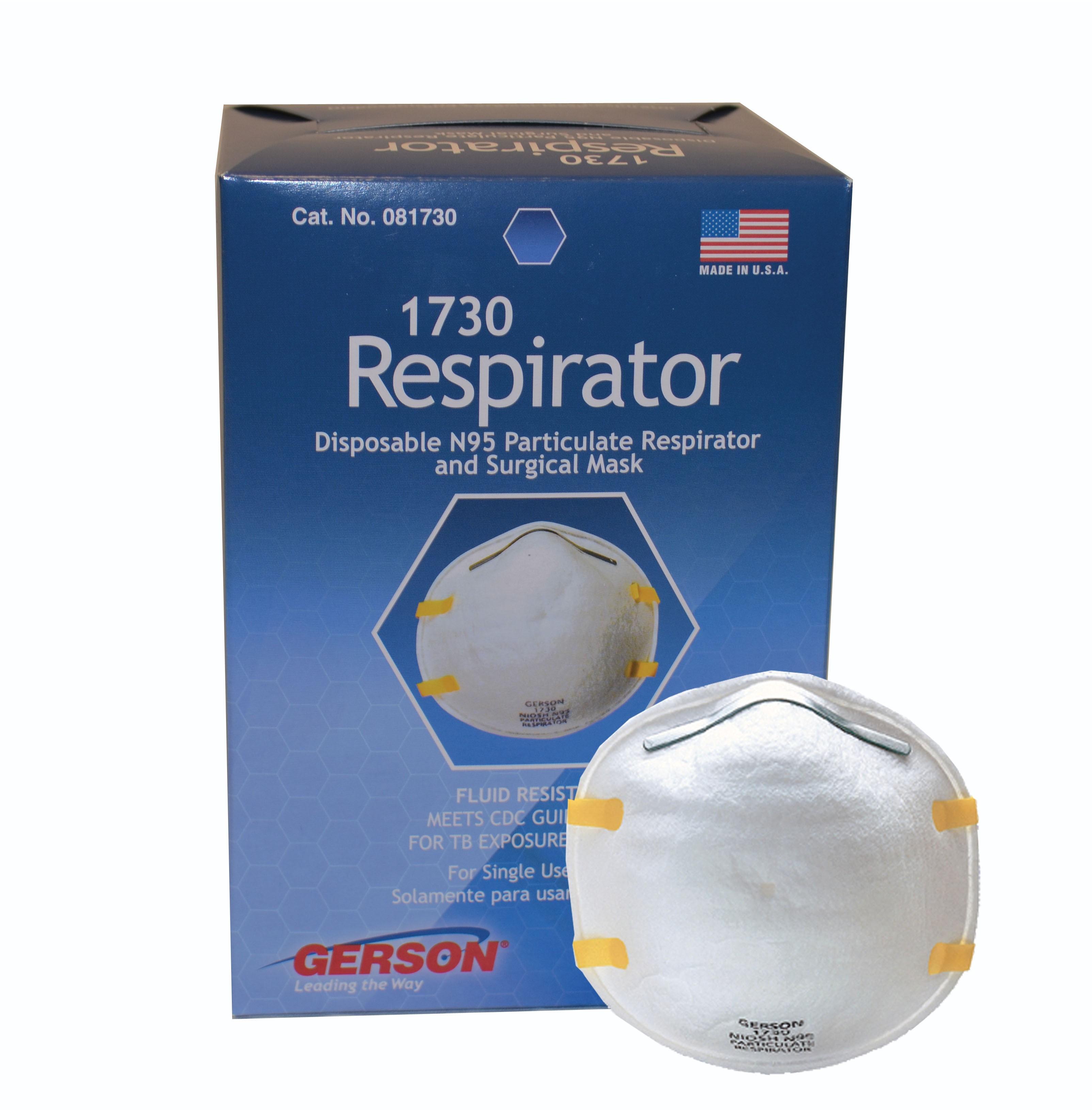 Shubee N95 Particulate Respirator (20/Box)