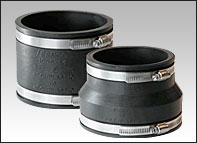 "4"" x 3"" All Pipe Rubber Coupling"