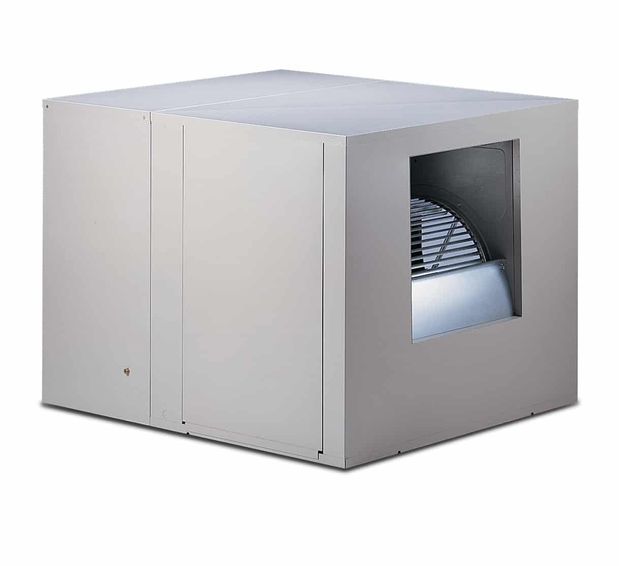 Phoenix Aerocool® Evaporative Cooler, 115/230 V, Up to 3875 CFM, Zinc Coated, Galvanized Sheet Steel, Down Draft