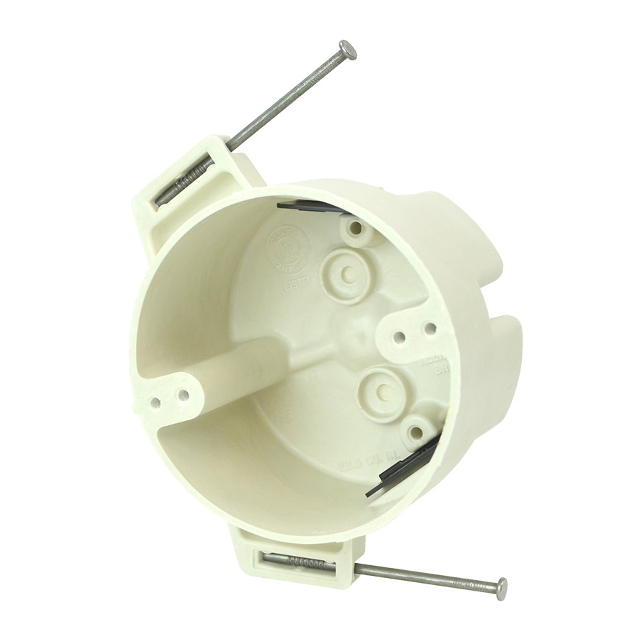 """Round Fibergladd Electrical Box - 4 Cu"""""""