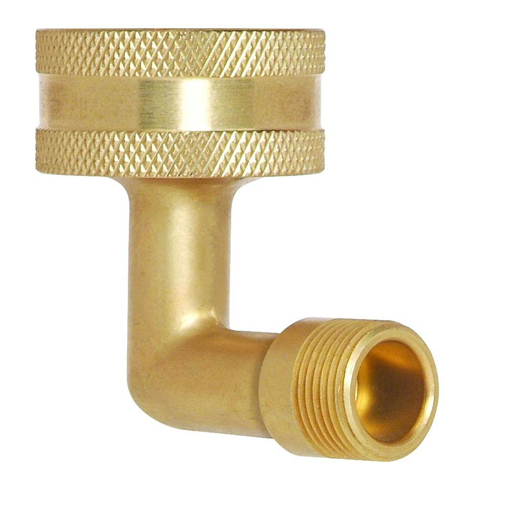 """BrassCraft Dishwasher Supply Elbow 3/8"""" x 3/4"""" Garden Hose"""