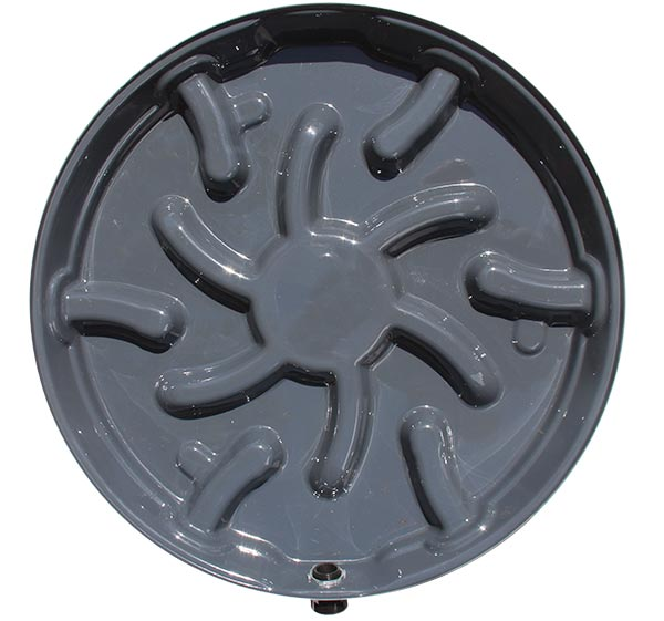 "24"" Lifted Water Heater Pan Plastic (Vp25R-P)"