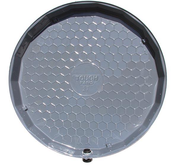 """Vizco 26"""" Water Heater Pan Plastic (Vp27-P)"""