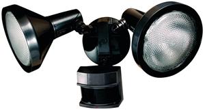 Motion Floodlight Bronze