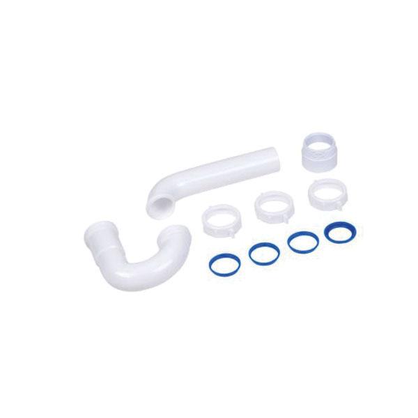 """Oatey 1-1/2"""" Sj PVC P-Trap Slip Joint (400Ttw)"""