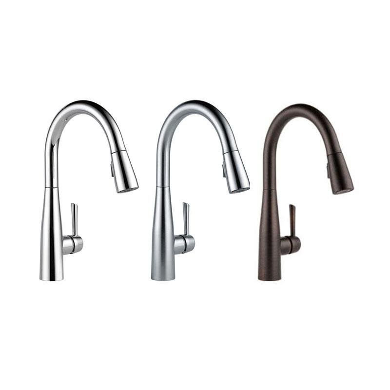 Delta Kitchen Faucet Sngl Hndl Pulldown Spray Essa