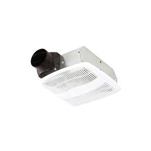 Bath Fan, 50CFM/3.0 Sones - White