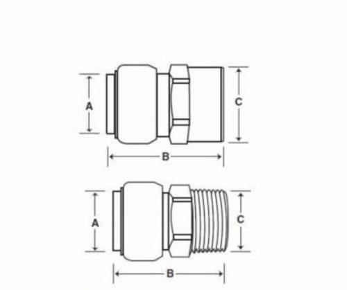 """SharkBite 3/4"""" Water Heater Installation Kit"""