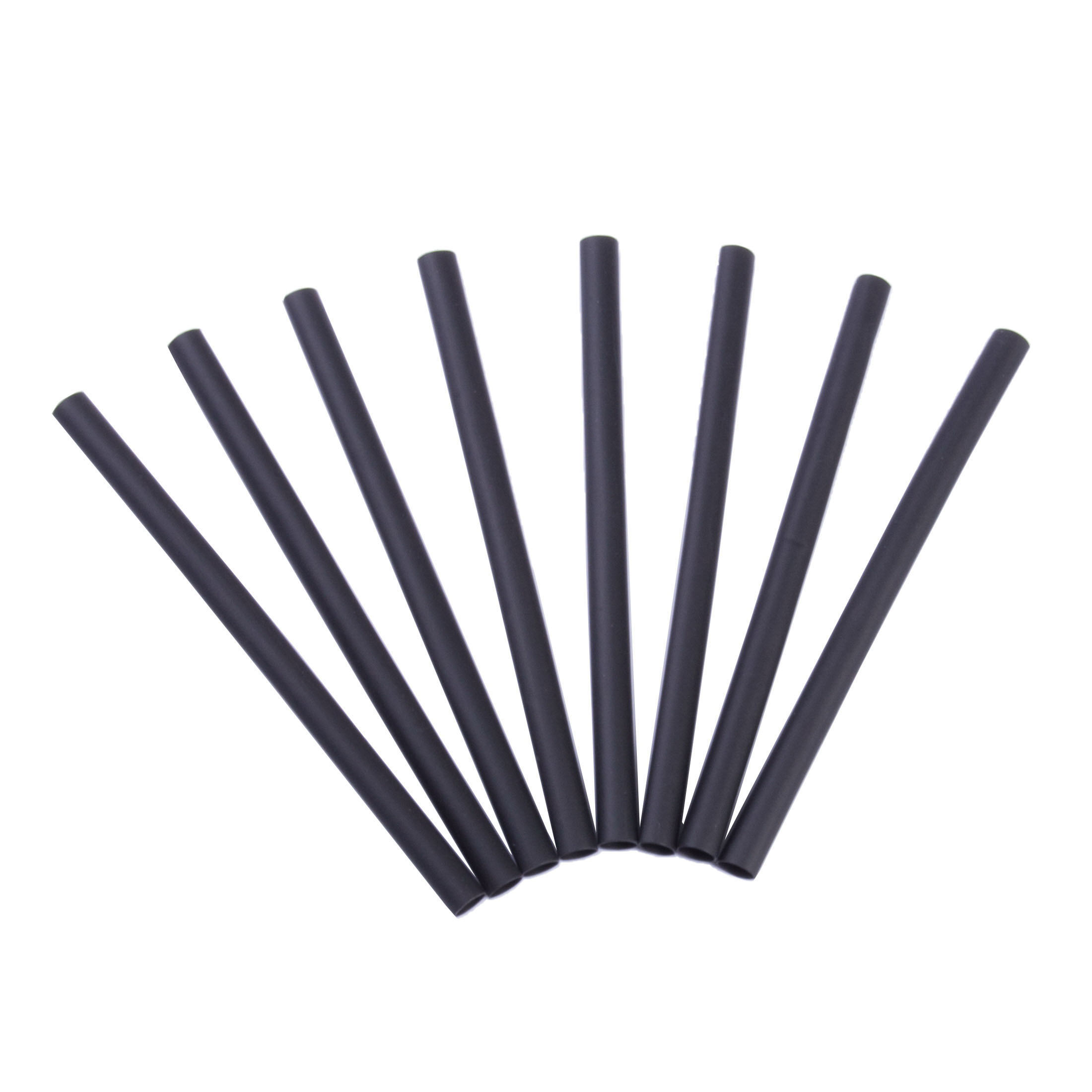 HEAT SHRINK 3/16X4 BLK 8 /PK