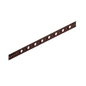 "20"" Copper Bracket with 1/2"" Holes"