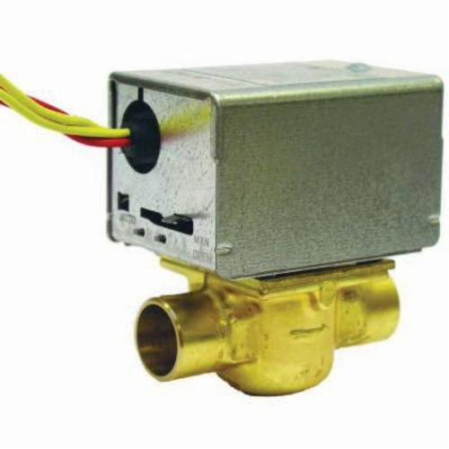 "Honeywell 3/4"" Zone Valve with End Switch 3.5 Cv"