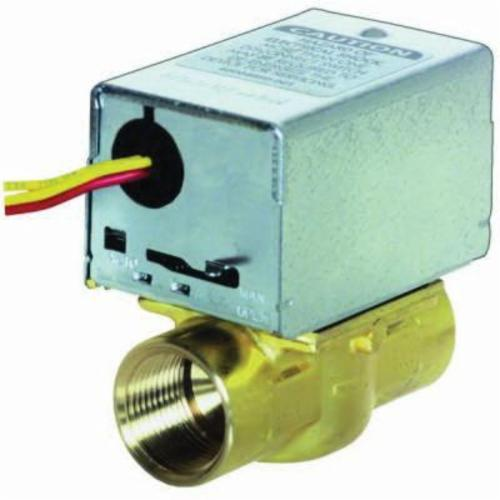 "Honeywell 1"" Full Port Zone Valve with End Switch 8.0 Cv"