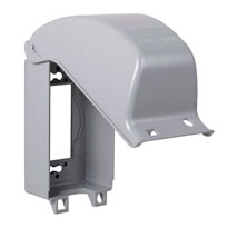 Metal In-Use Single Verticle Cover