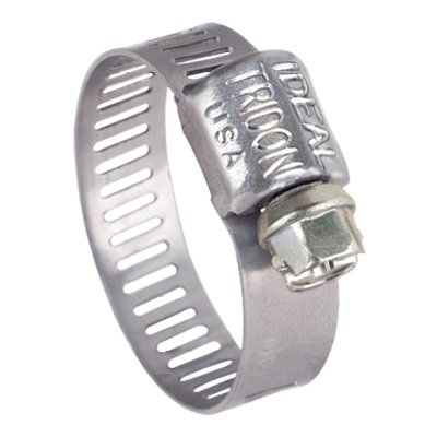 "1/4"" to 5/8"" Hose Clamp - Stainless Steel"