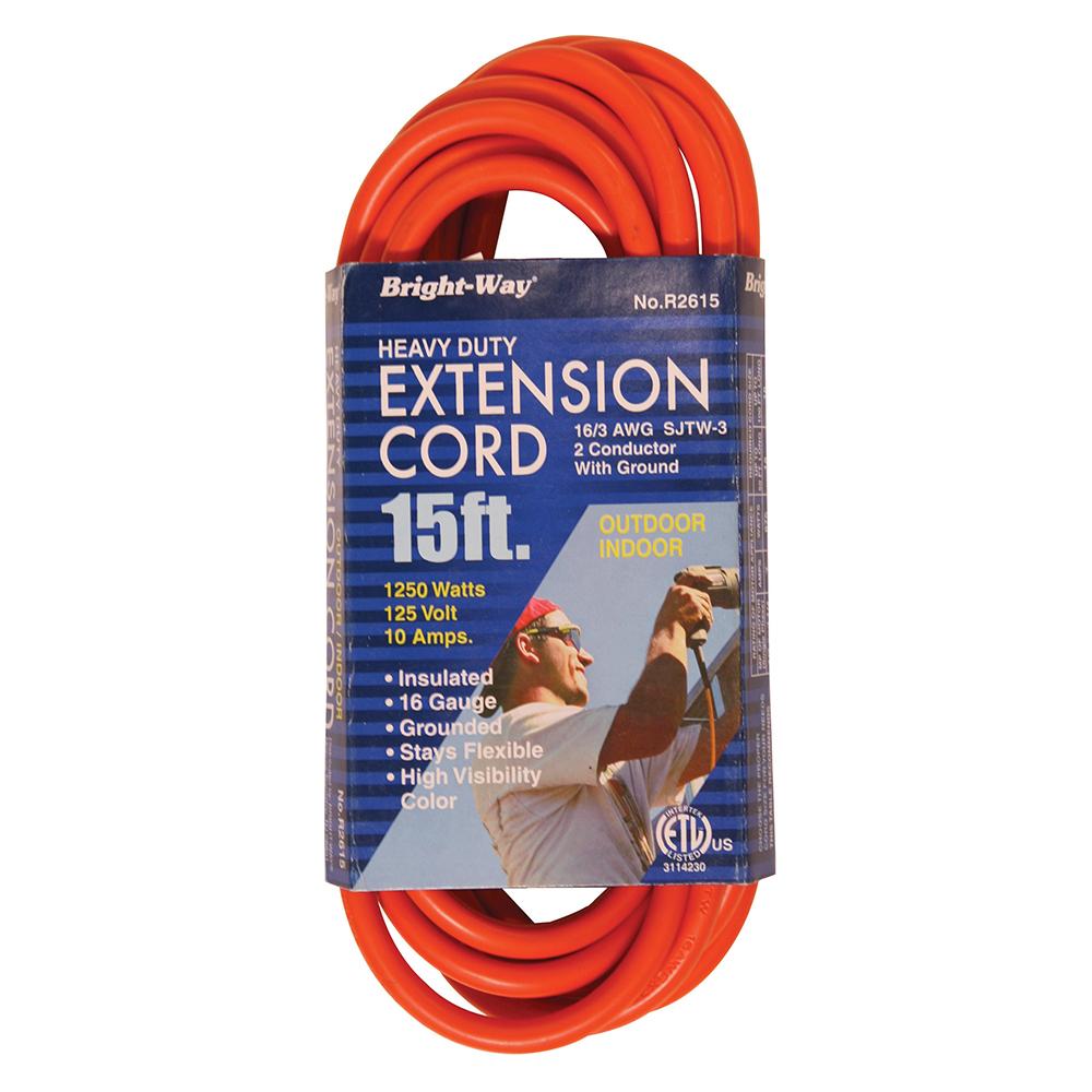 16/3 15' EXTENSION CORD (E25000)