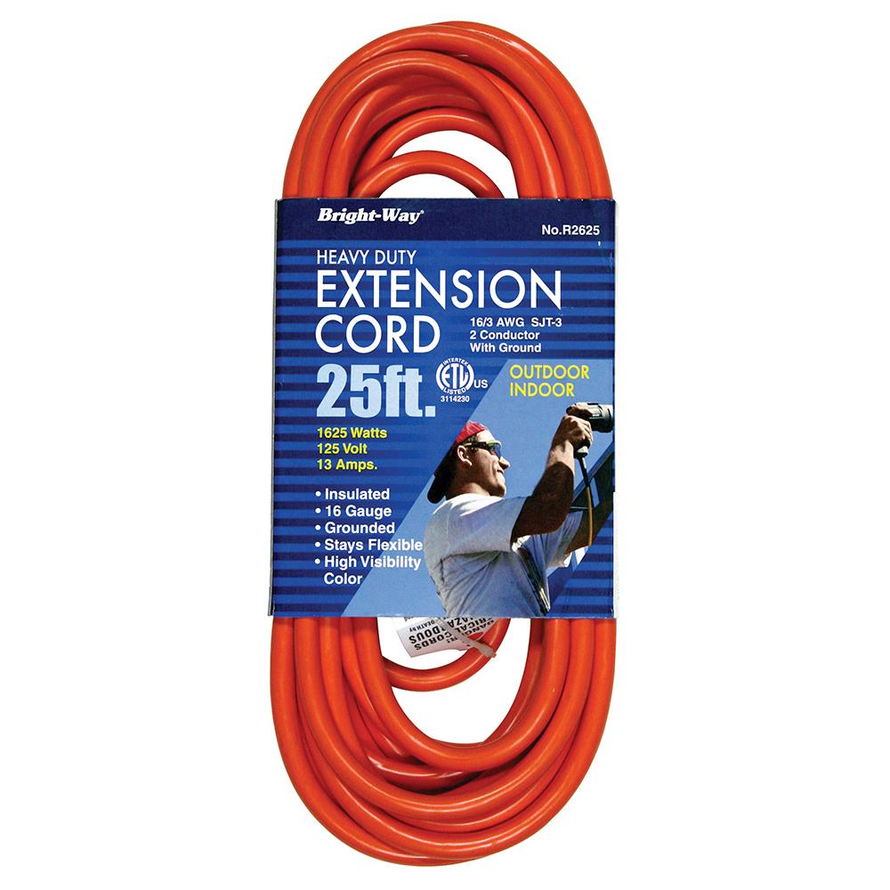 16/3 25' EXTENSION CORD (E25001)