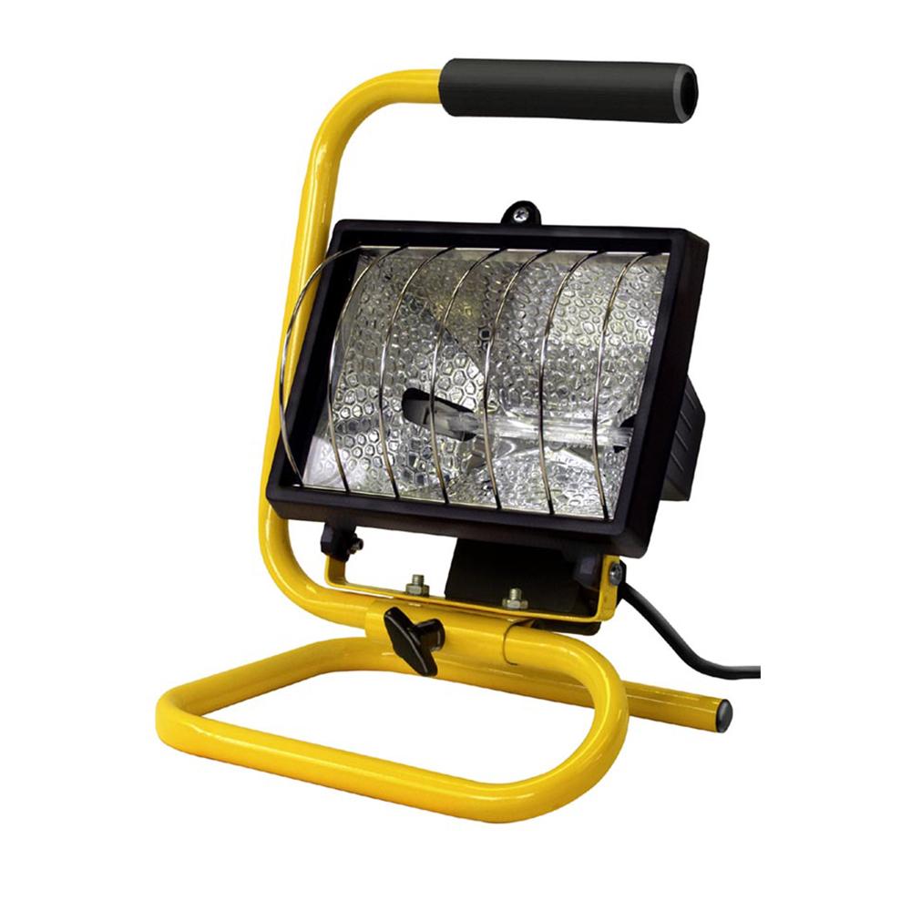 PORTABLE HALOGEN WORK LIGHT (E25250)