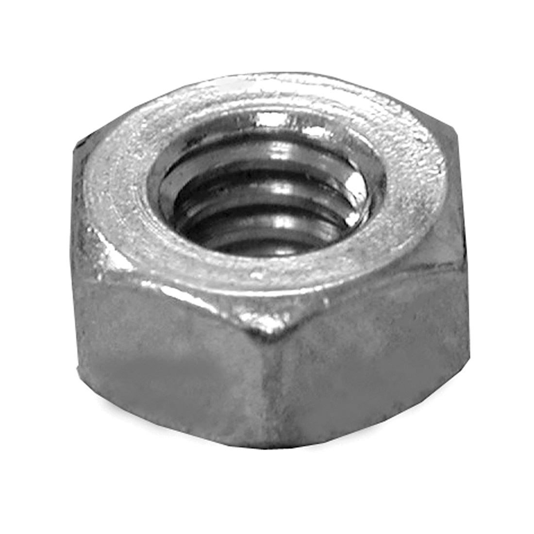 "3/8"" Hex Nut - Chrome Plated"