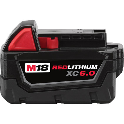 Milwaukee Tool M18 6.0Ah Redlithium Battery