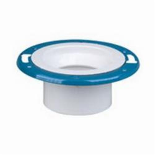"4"" x 3"" PVC Adjustable Closet Flange (P811-422)"