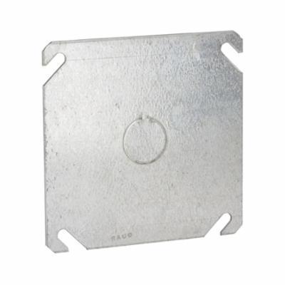 "Raco 4"" Square 1/2Ko Blank Box Cover"