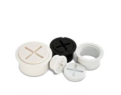"""3"""" PVC Fitting Cleanout Adapter & Plug 97483"""