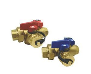ISO Valves with T&P Relief Valve