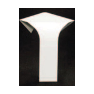 Slant/Fin Base/Line® Baseboard Inside Corner, 90D, Nu-White, Snap-On, Non-Hinged